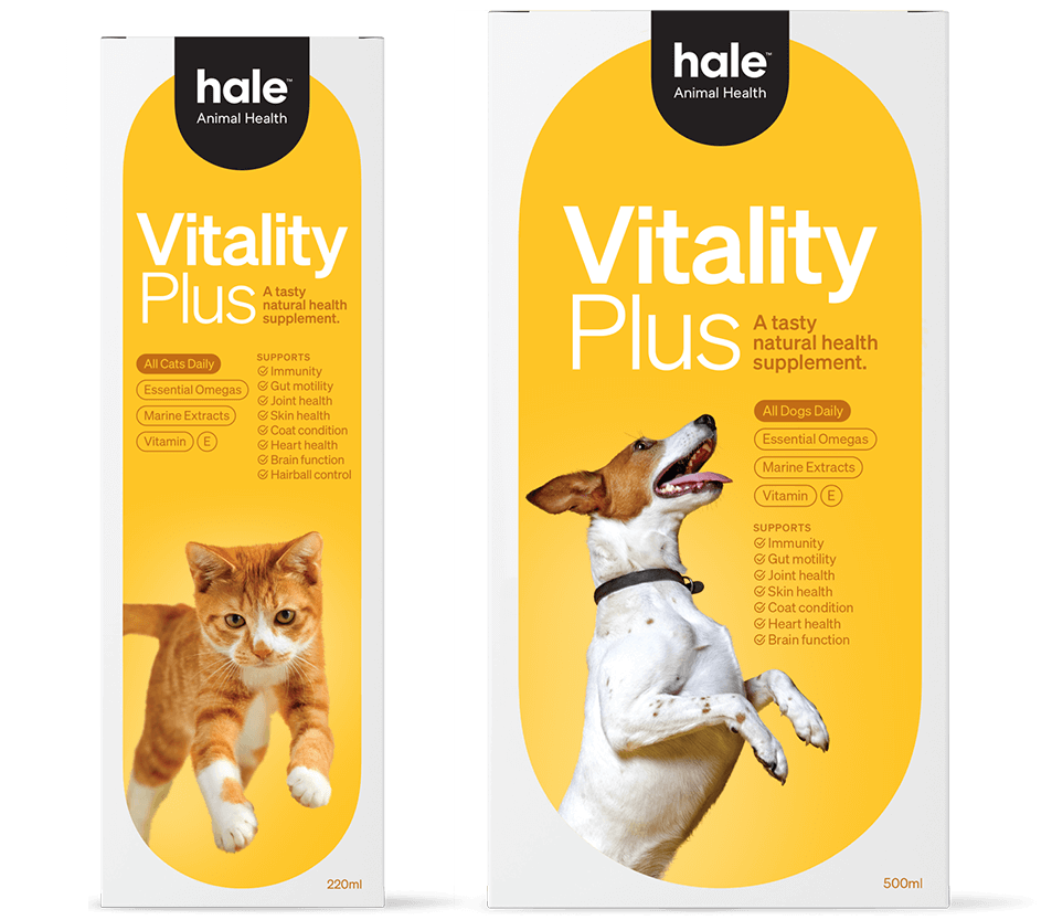 Hale Animal - Vitality Plus products